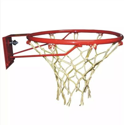 Aro De Basquet Hueco Con 2 Resortes Y Red - Uso Recreativo