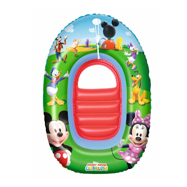Bote Inflable Infantil - Mickey - 102 X 69 Cm.