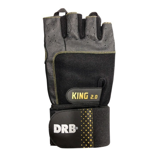 Guante Fitness - Modelo King 2.0 - Drb - Talle S