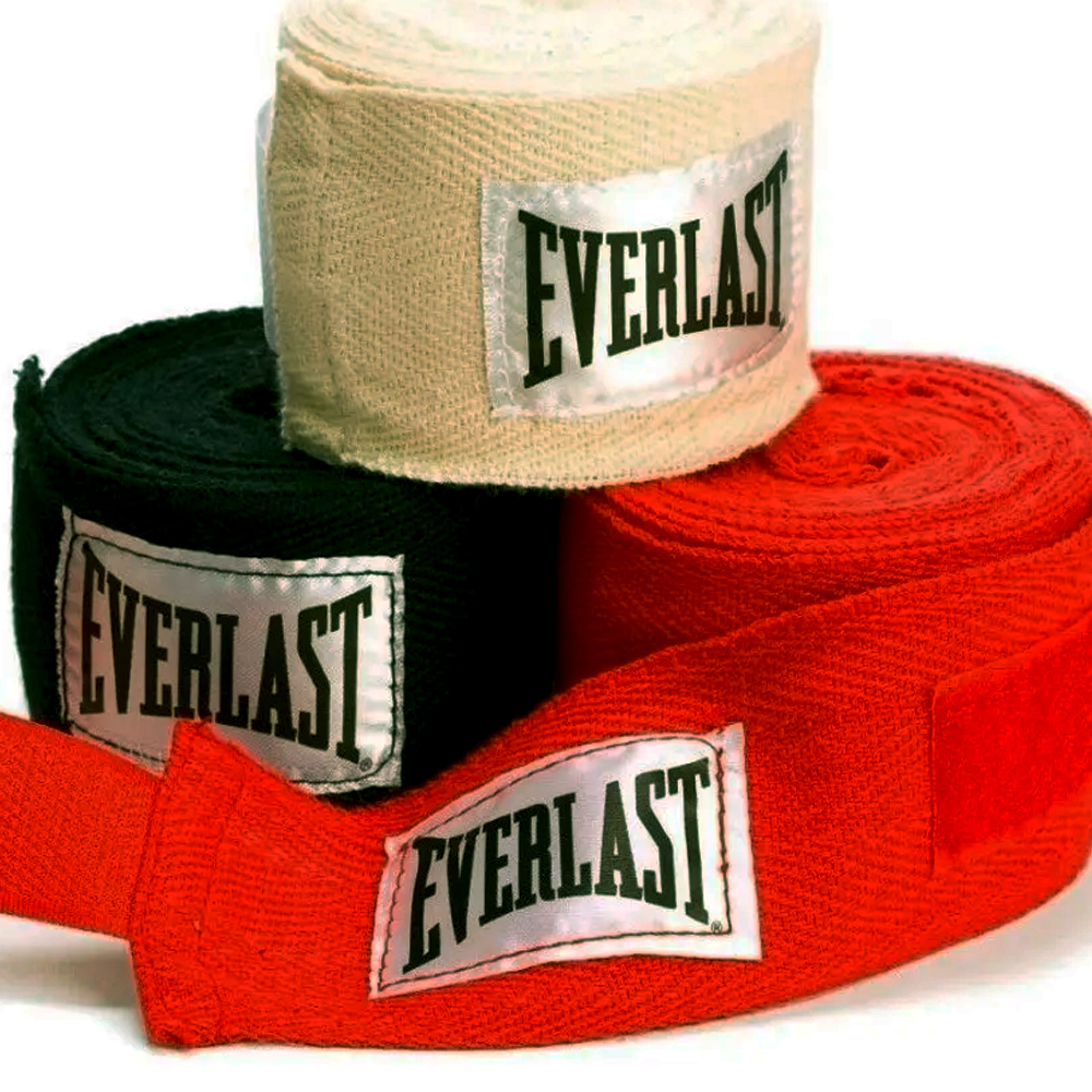 Pack X3 Pares Venda De Boxeo Everlast (5 Cm. X 4,70 Mts).