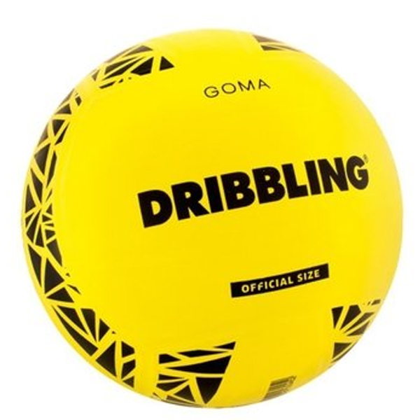 Pelota De Voley Nº5 De Goma Lisa - Marca Drb - Color Amarillo