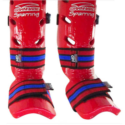 Tibial Con Empeine Granmarc - Linea Sparring- Talle 2